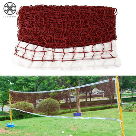 Luxtrada Badminton Tennis Volleyball Net For Beach Garden Indoor Outdoor Games