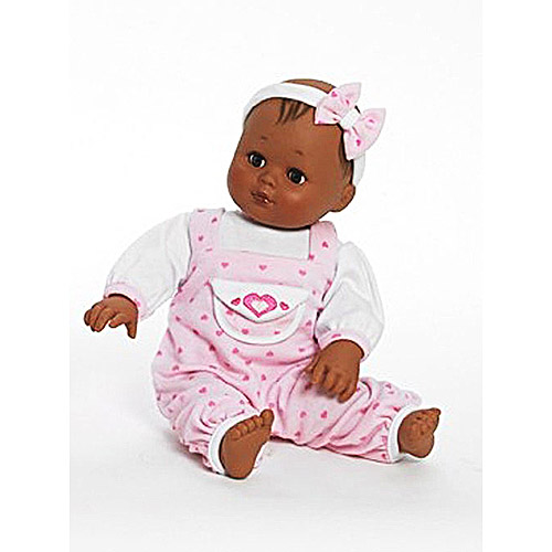 Madame Alexander Hearts a Flutter Baby Cuddles Doll, African American with Brunette Hair by