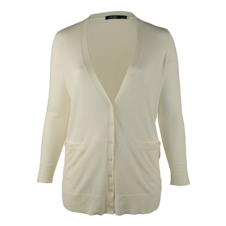 Ralph Lauren Women's Plus Size Cardigan
