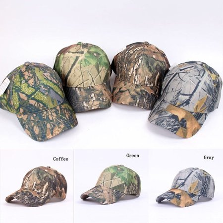 Fashion Mens Military Adjustable Baseball Caps Camo Hunting Fishing Army