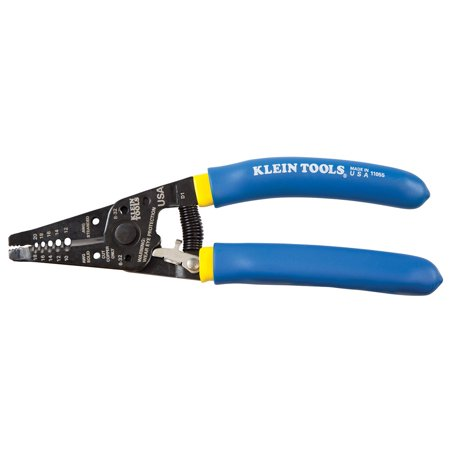 Klein Tools 11055 Wire Stripper and Cutter Double Dipped
