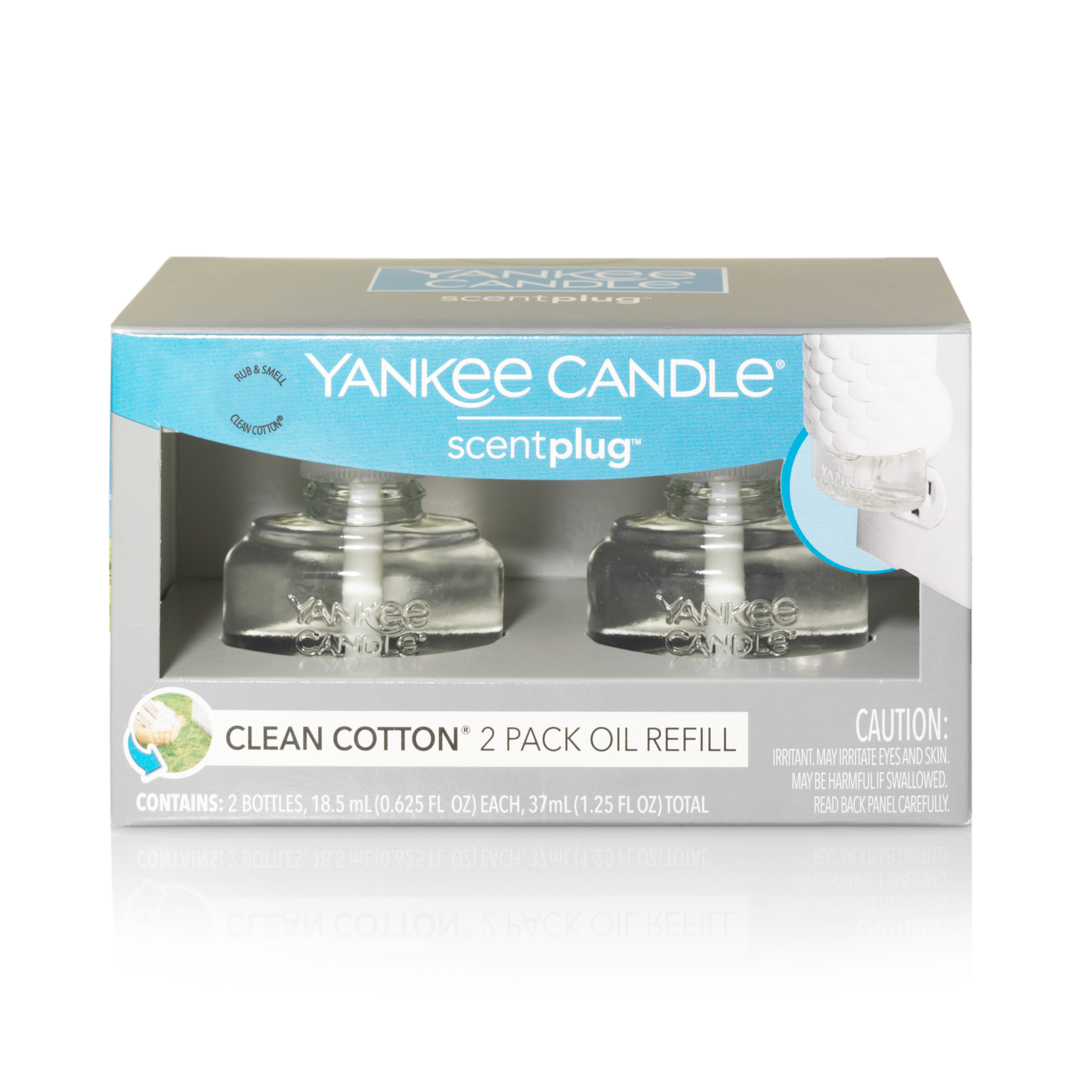 Yankee Candle Clean Cotton ScentPlug™ Refill 2-Pack