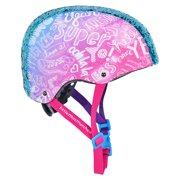 LittleMissMatched Magic Sequin Child's Bicycle Helmet, Teal