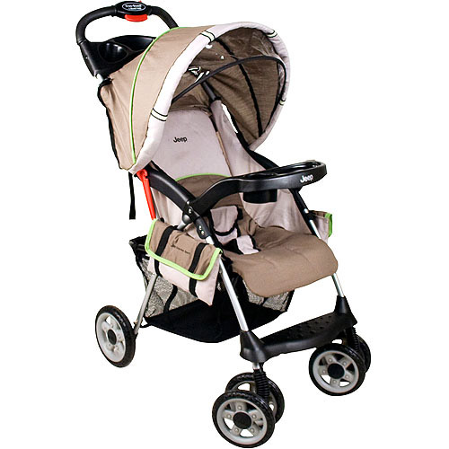 Jeep Cherokee Sport Lightweight Stroller, Tan Impulse