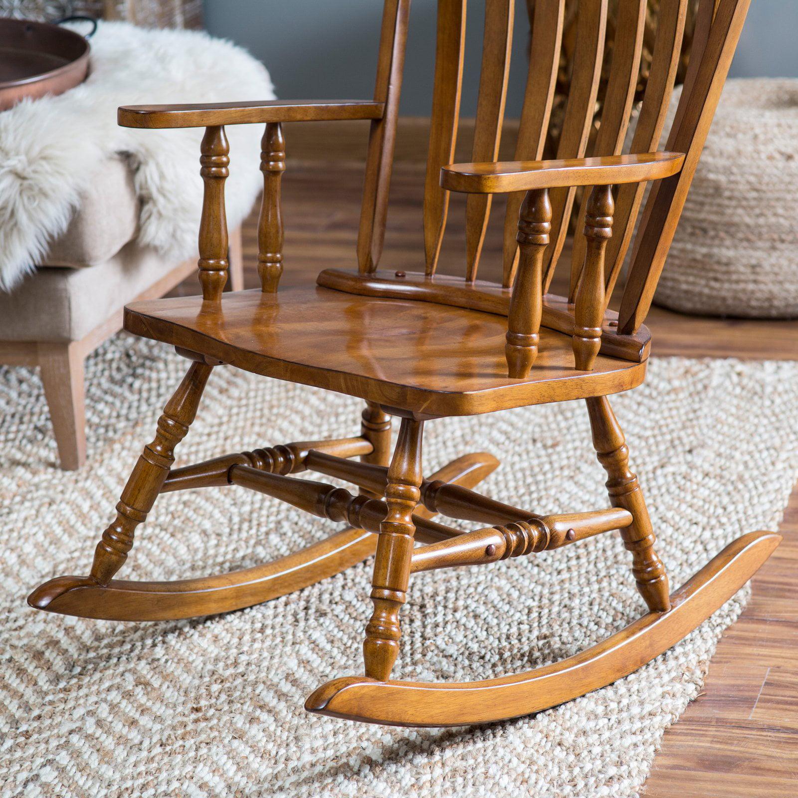 belham living windsor rocking chair oak walmart com
