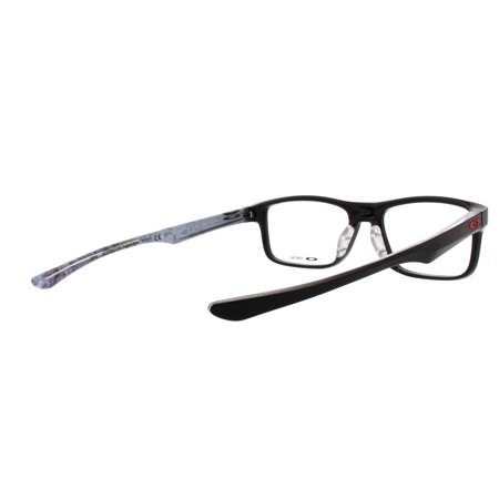 ed4521ab621 OAKLEY Eyeglasses PLANK 2.0 (OX8081-0253) Polished Black 53MM - Walmart.com