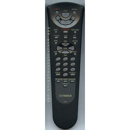 FISHER FXGC (p/n: 6450145339) VCR Remote Control (new)