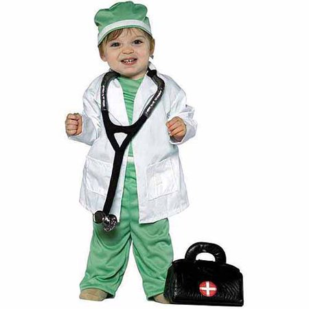 Jennifer Back To The Future Costume (Future Doctor Child Halloween)