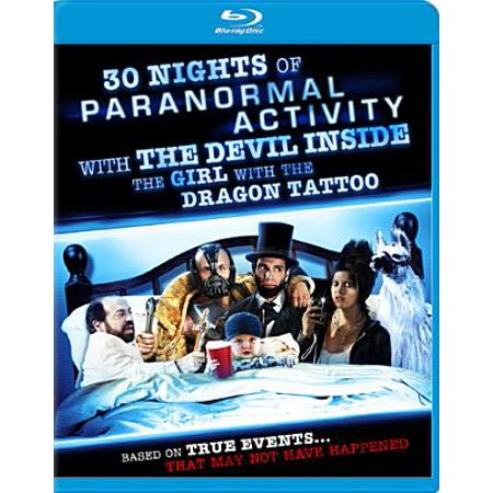30 Nights of Paranormal Activity with the Devil Inside the Girl with the Dragon Tattoo (Blu-ray) - Halloween Devils Night