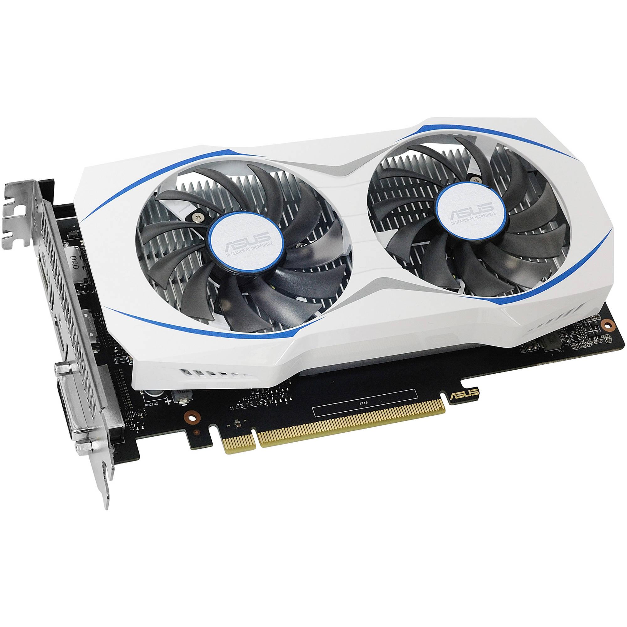 Asus GeForce DUAL GTX 1050 Ti Dual-Fan Edition 4GB GDDR5 ...