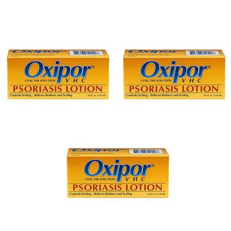 3 Pack Oxipor Lotion Psoriasis CRV - 4 Oz (aide à arrêter le psoriasis)
