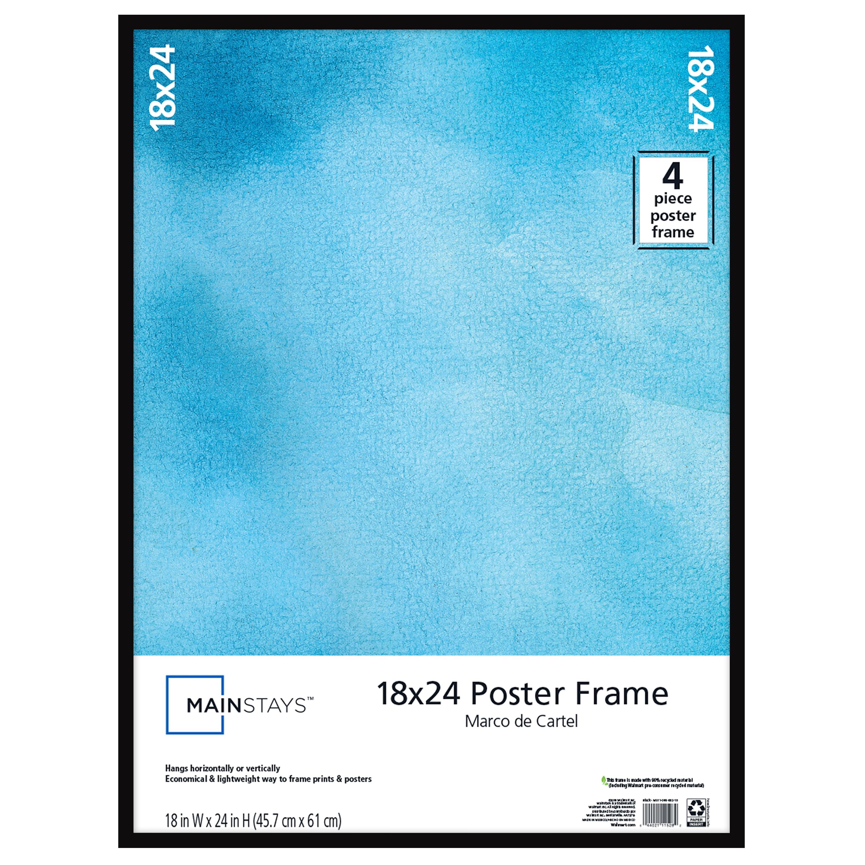 Mainstays 18 X24 Basic Poster Frame Black Walmart Com Walmart Com