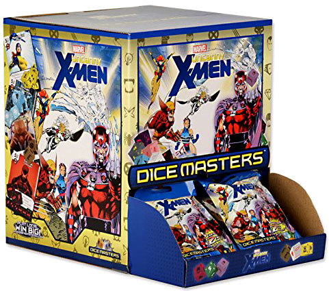 Marvel Dice Masters Uncanny X-Men Gravity Feed Booster Box by WizKids