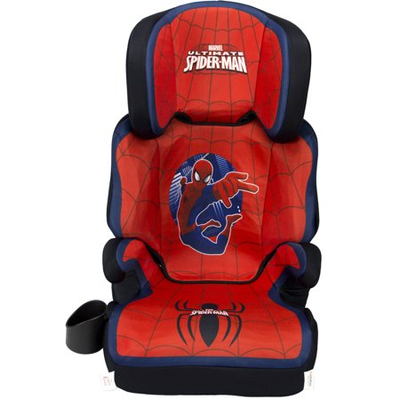 kidsembrace marvel ultimate spider man high back booster car seat. Black Bedroom Furniture Sets. Home Design Ideas