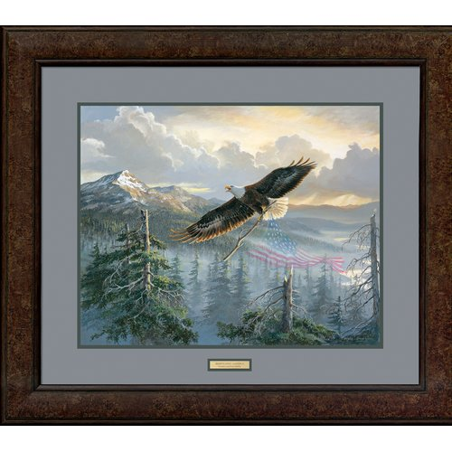Wild Wings Rebuilding America by Persis Clayton Weirs Framed Painting Print by