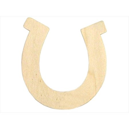 & Catan Floral DAR9189.32 Wood Shape Unfnshd - Horseshoe, 3.5 X 3.75 In., Pack Of 24, Pack of 24 By Darice From - Horse Shoe Crafts