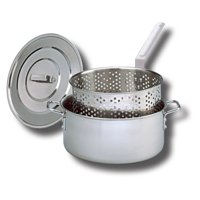 King Kooker Stainless Steel Fry Pan - 10 qt.