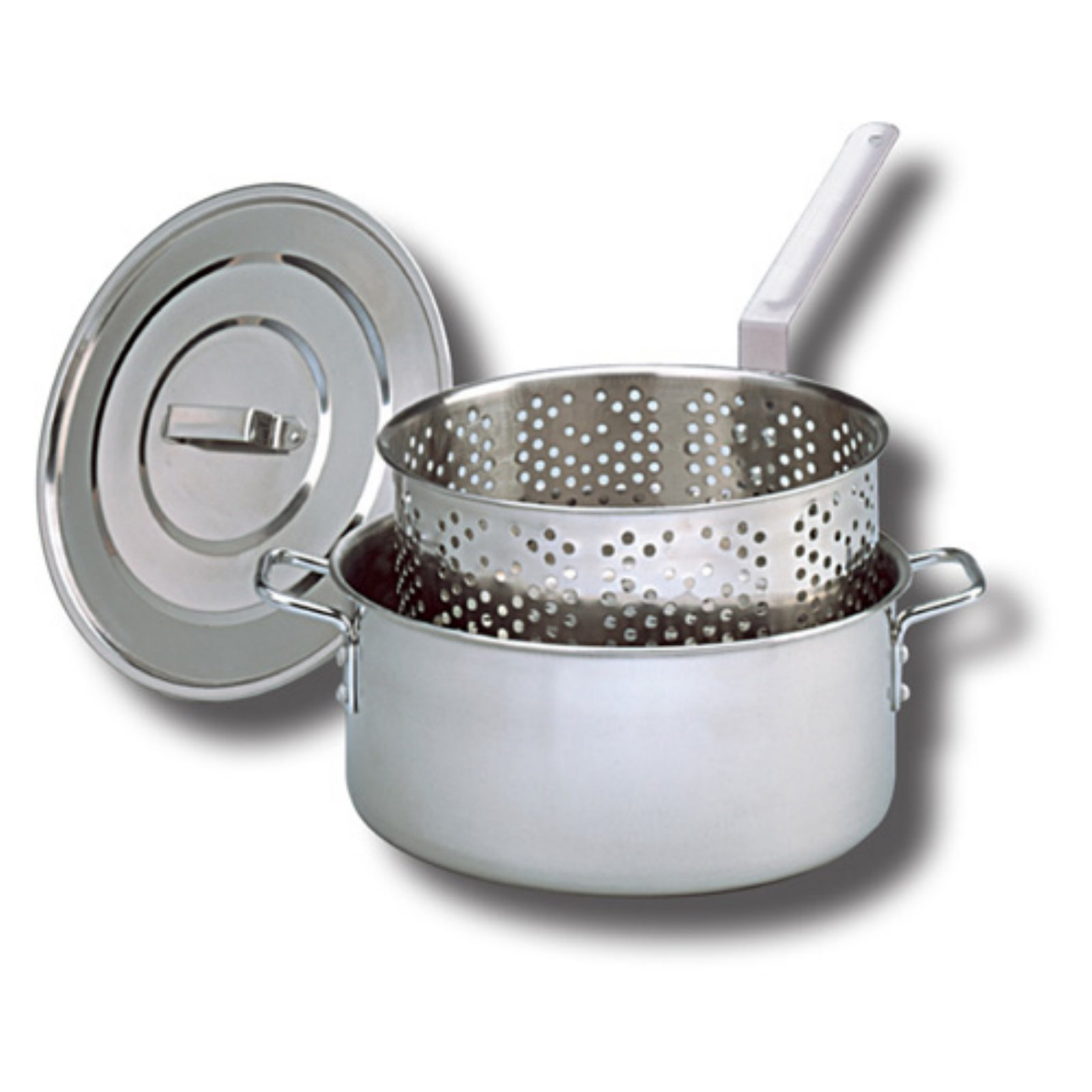 King Kooker Stainless Steel Fry Pan - 10 qt.