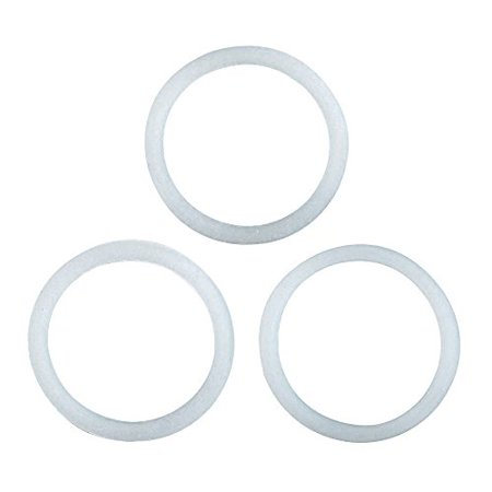 Stovetop Espresso Maker Gasket - Primula Replacement Silicone Gasket for Stainless Steel 6 Cup Stovetop Espresso Maker, Set of 3
