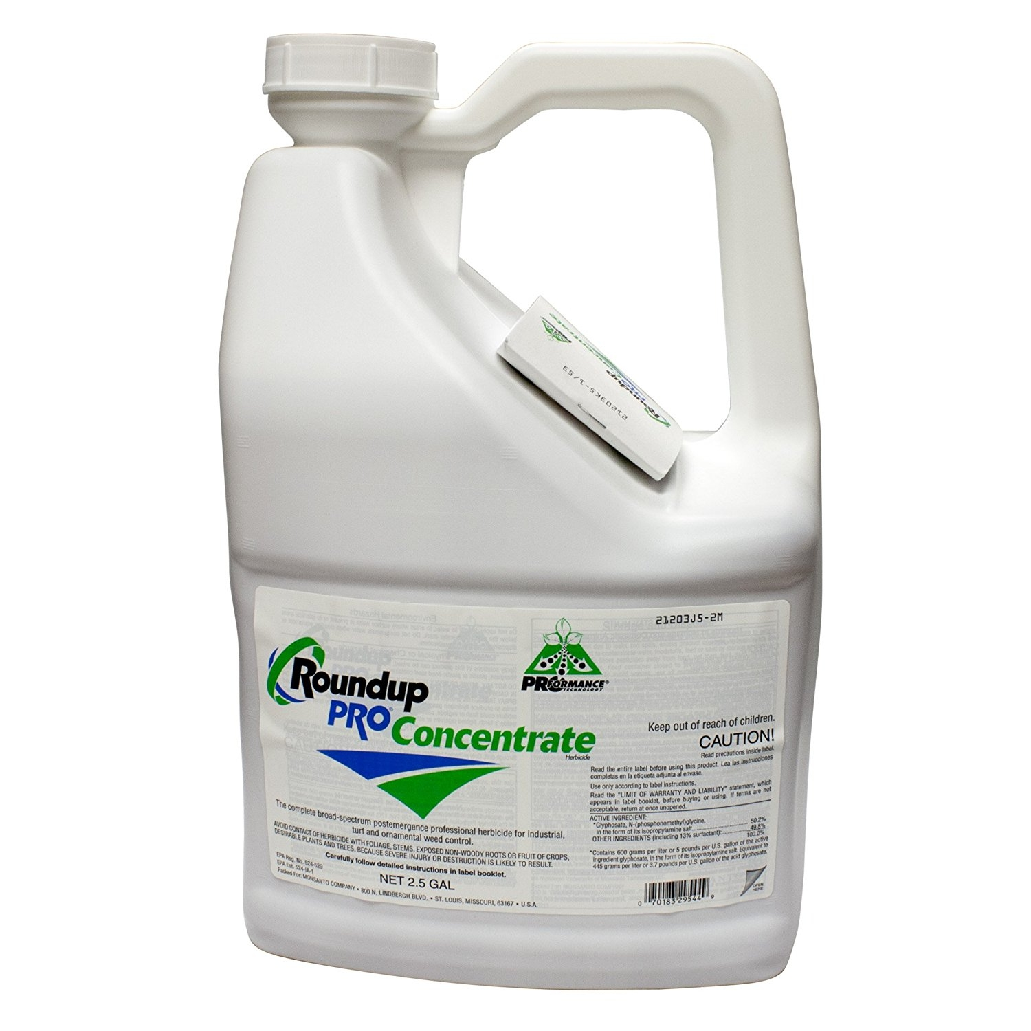 Monsanto Round Up Pro Concentrate 50.2% Glyphosate 5 Gall...