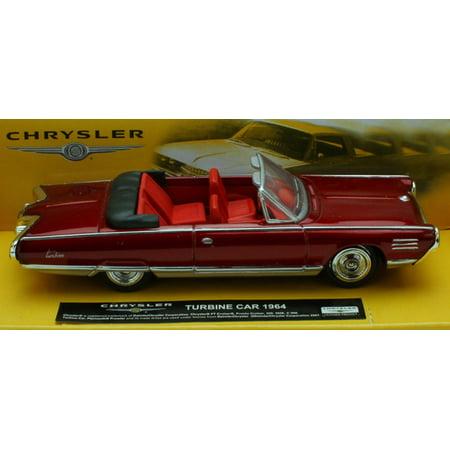 1 43 Scale Die Cast Red 1964 Chrysler Turbine Car Walmart Com