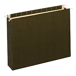 Office Depot® Brand Expanding Hanging File Pocket With Full-Height Gussets, 3 1/2