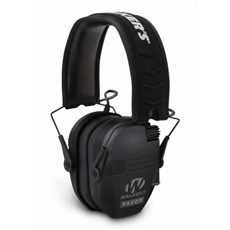 4f994fd3c812 WALKERS GAME EAR RAZOR SLIM SHOOTER FOLDING EARMUFF 23 DB BLACK -  Walmart.com
