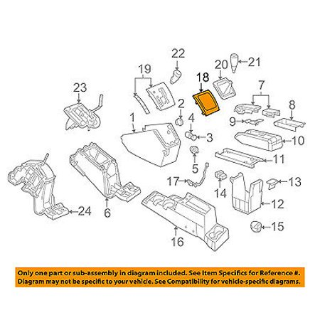 jeep chrysler oem 07 08 compass front center console bezel. Black Bedroom Furniture Sets. Home Design Ideas