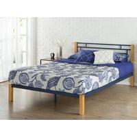 """Zinus Taylan 36"""" Metal & Wood Platform Bed, Queen"""