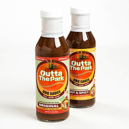 Outta the Park North Carolina BBQ Sauce - Hot and Spicy (15
