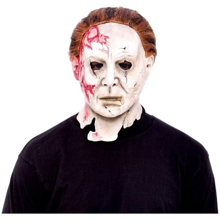 Michael Myers Rob Zombie Halloween 2 Costume Mask (Michael Myers Movie Mask)