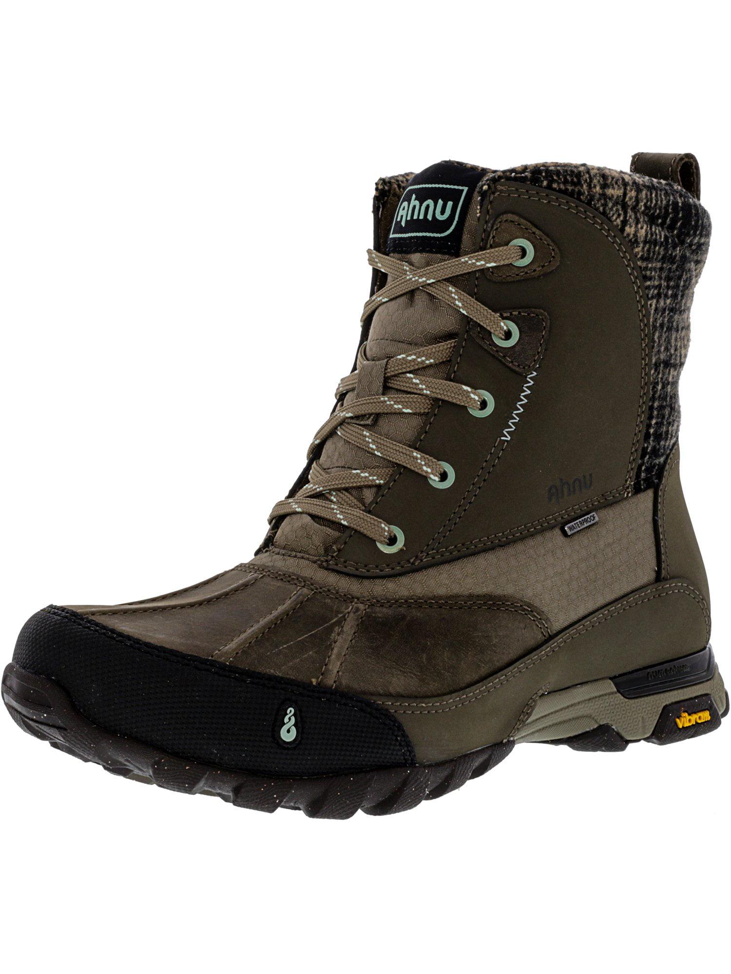 16eeeae84bf Ahnu Women's Sugar Peak Insulated Waterproof Alder Bark Mid-Calf Leather  Hiking Boot - 7.5M