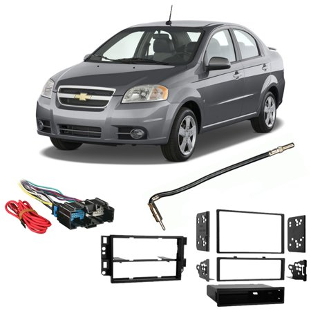 Fits Chevy Aveo Sedan 2007-2008 Single/Double DIN Harness Radio Dash