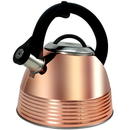 2.4 Qt Tea Kettle, Copper Plated