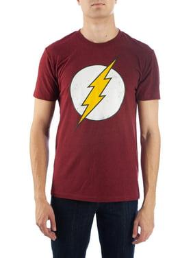 Flash Dc Comics Vintage Men's and Big Men's Graphic T-shirt