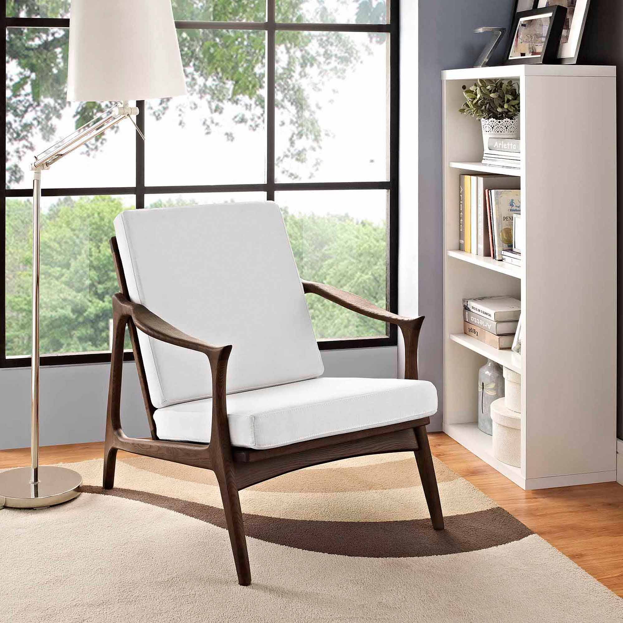 Modway Pace Armchair with Removable Cushions, Multiple Colors ...