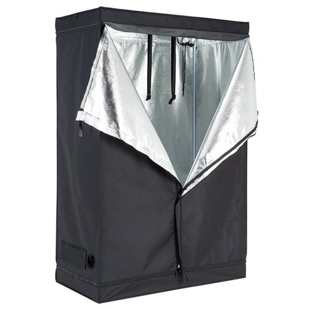 "Uenjoy 48""x48""x78"" 600D Hydroponic Indoor Grow Tent Room Reflective Mylar Heavy Duty Non Toxic Hut"