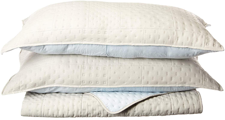 KASENTEX Coverlet 3-pc Mini Quilt Set All-Season Lightweight Ultra Soft Bedding StoNewashed Blanket... by Kasentex