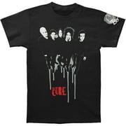 Cure Men's  Band Drip 2013 Tour Slim Fit T-shirt Black