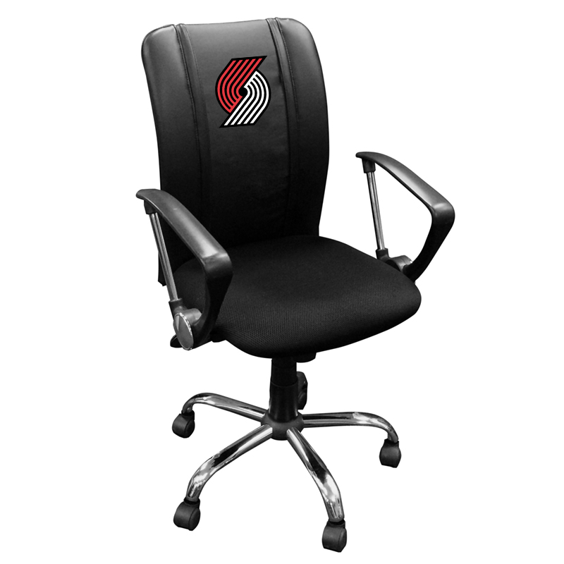 Portland Trailblazers NBA Curve Task Chair
