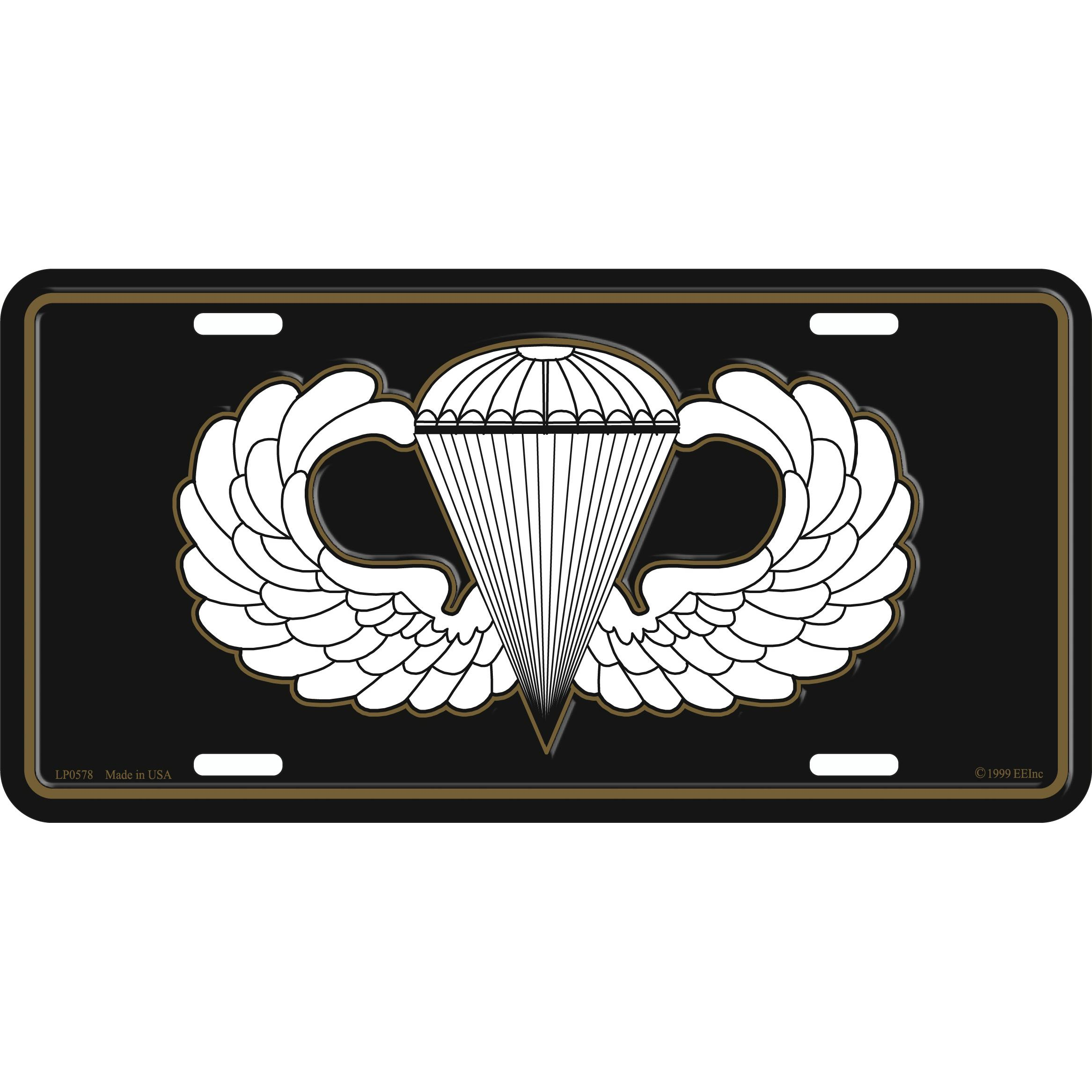 Army 25th Infantry Division License Plate with Frame FindingKing U.S
