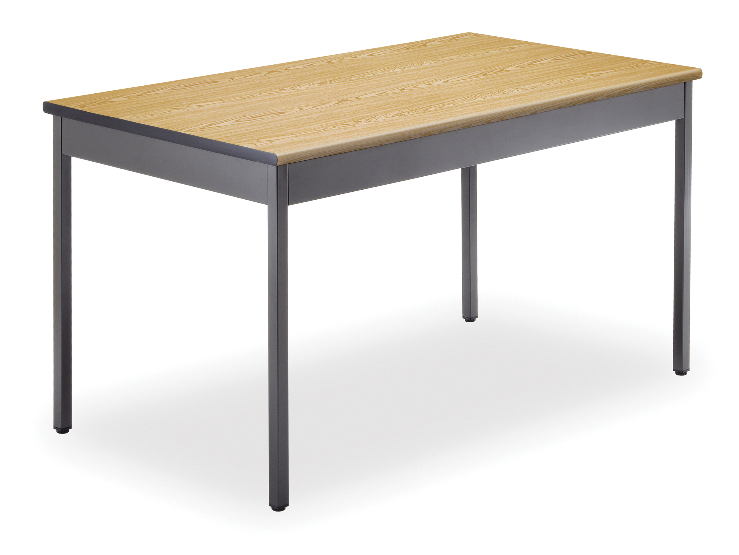 Superieur OFM Adapt Series Rectangle Student Table   25 33u2033 Height Adjustable Desk  With Casters, Gray Nebula (RECT LLC)   Walmart.com
