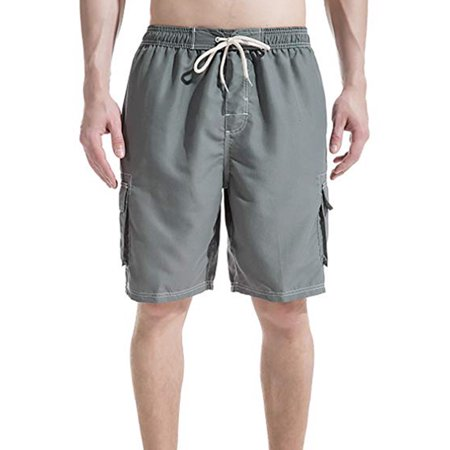 LELINTA Mens Big Extended Size Swim Trunks, Mens Board Shorts and Swimming  Trunks for the Big And Tall Man, Mens Plus Size Swimsuit sizes 2X, 3X, 4X