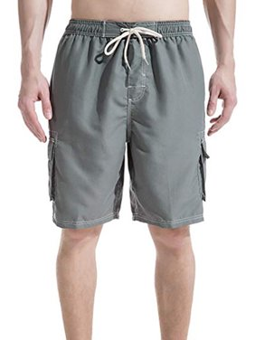 7d5d65bcc2 Product Image LELINTA Mens Big Extended Size Swim Trunks, Mens Board Shorts  and Swimming Trunks for the