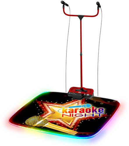 Karaoke Night Kn290 Karaoke Machine With Lighted Stage Mat by Karaoke Night