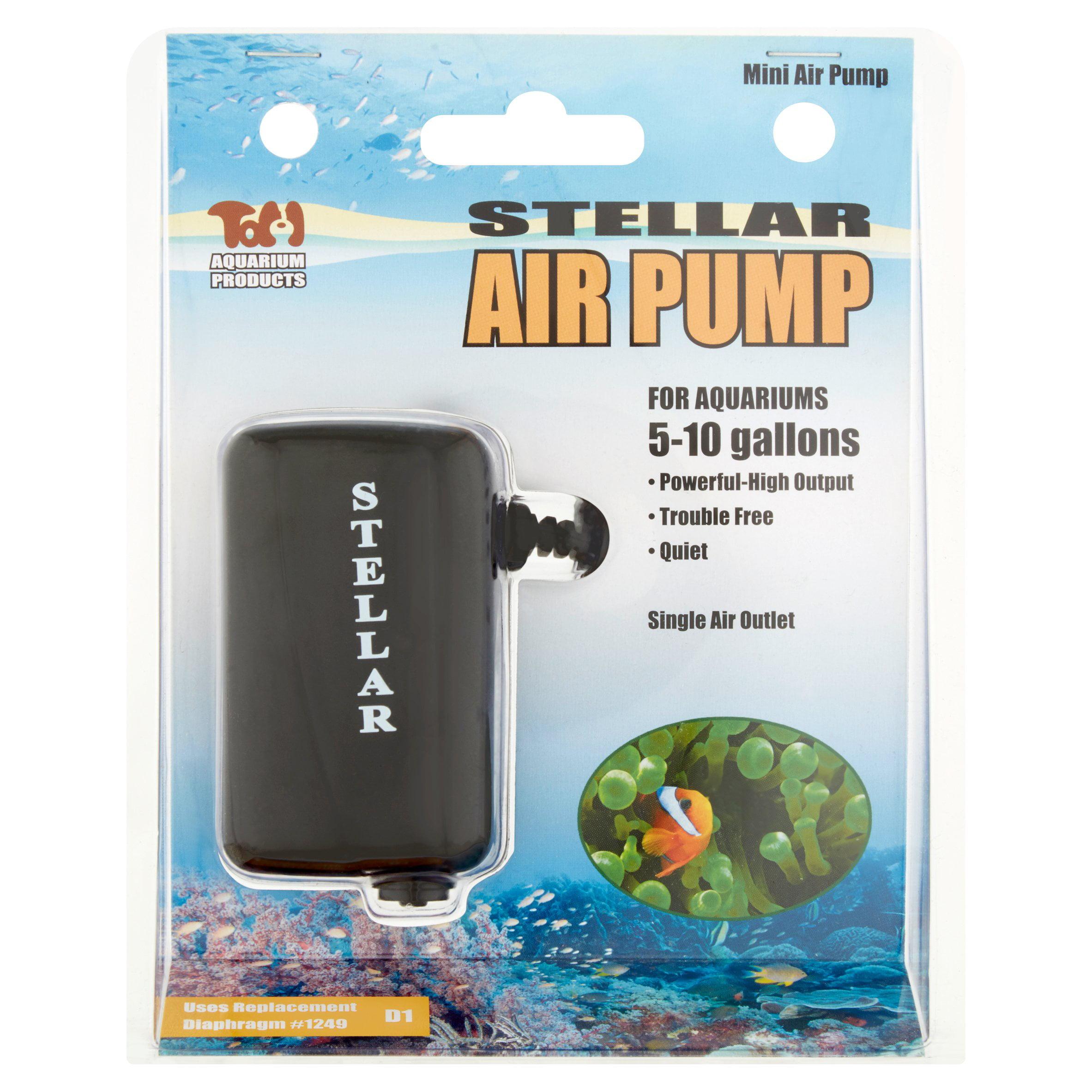 Tom Aquarium Mini Stellar Air Pump Walmart