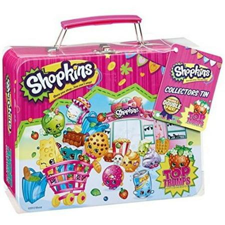 Game Collectors Tin - Shopkins Top Trumps Collectors Tin