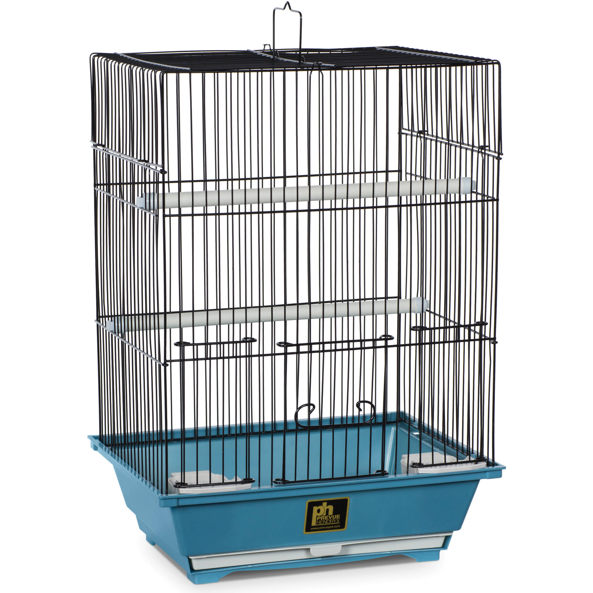 Prevue Pet Products Small Slate Bird Cage with Removable Tray by Prevue Hendryx