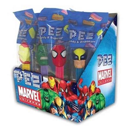 Pez Marvel Heroes: 12 Count