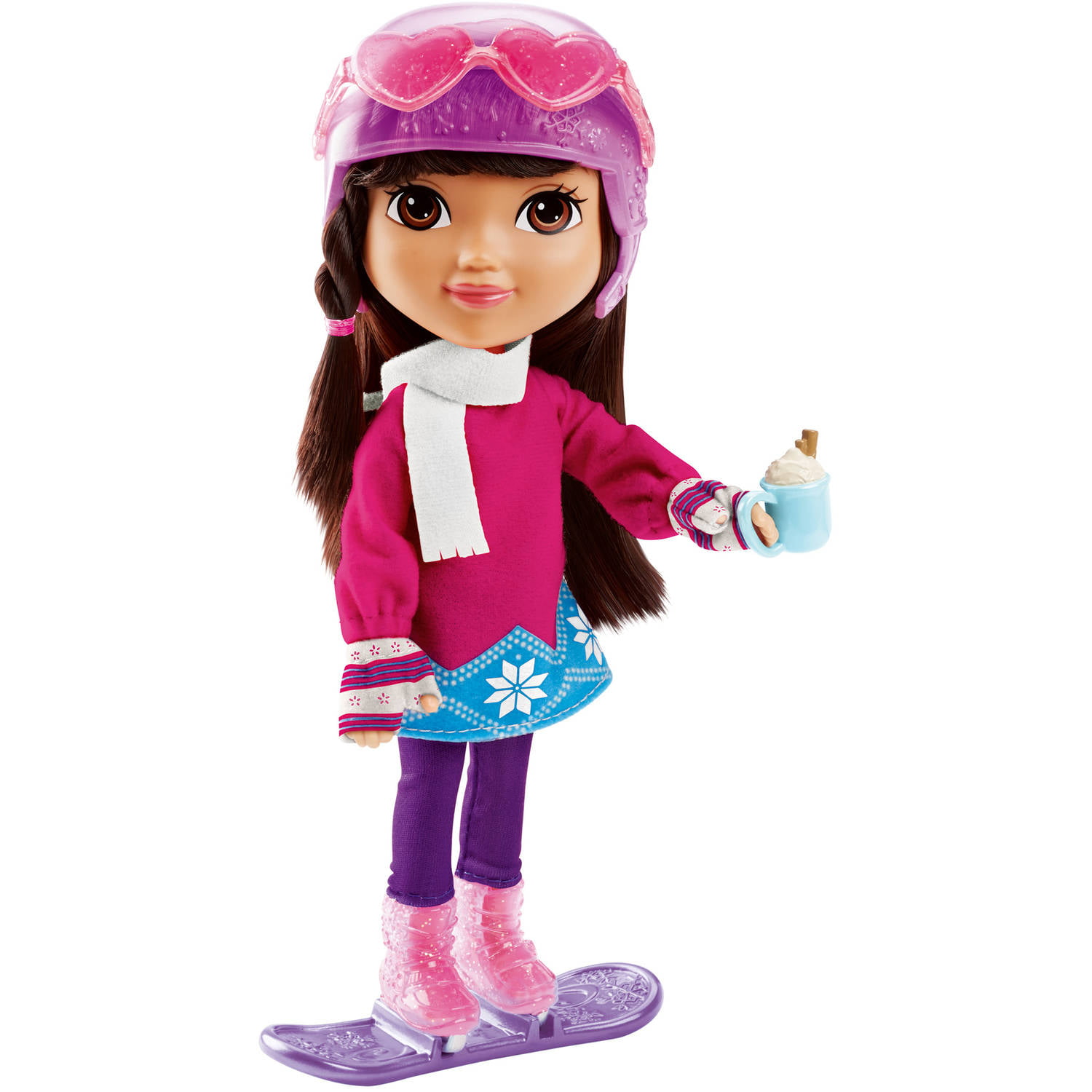 Fisher Price Nickelodeon Dora and Friends Dora Loves Winter by Fisher Price - Import
